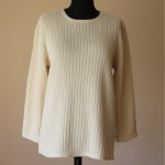 C016 Cotton Top Big Long Sleeves Lacy or Rib