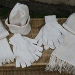 C022 Cotton Scarf Plain C023 Cotton Scarf fancy stitch with Tassels C024 Cotton Beanies with turn up finish C025 Cotton Full Gloves C028 Cotton Fingerless Gloves
