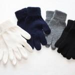 K008 Cotton Full Gloves Kiddies K009 Cotton Fingerless Gloves Kiddies
