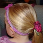 K011 Cotton or Bamboo Kiddies Headband B003 Cotton & Bamboo Hair Elastic